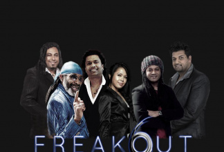FREAKOUT 6 COVER BAND or Show Band (M.Jackson/B.White/T.Turner/Bob Marley)
