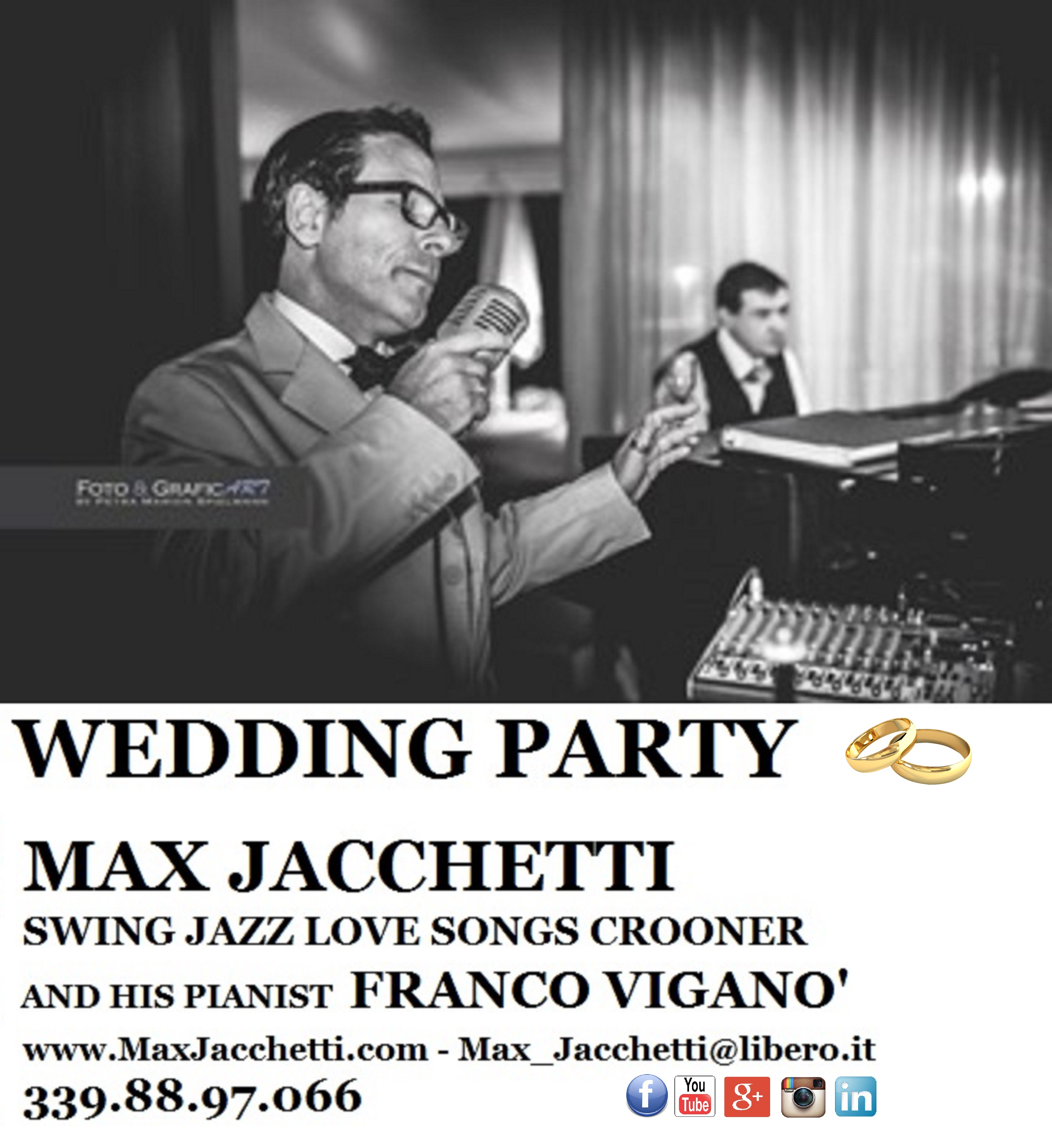 MAX JACCHETTI Swing Jazz Love Songs Crooner picture