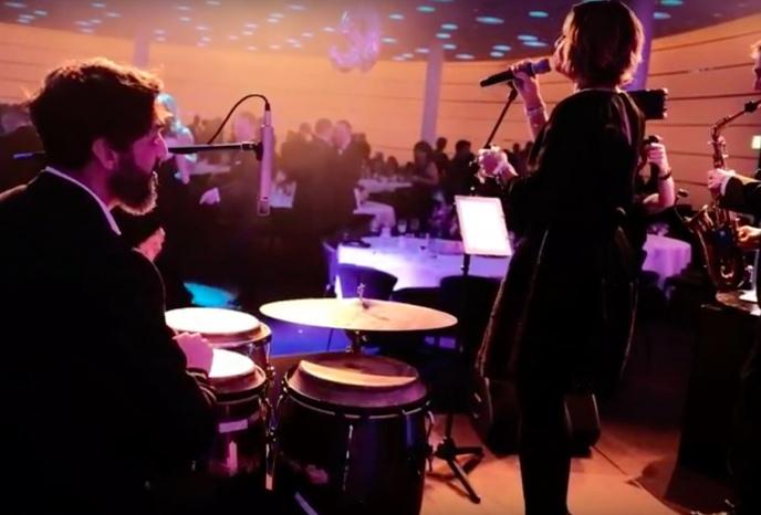 Live Band sax o` conga feat. Tanja Dankner